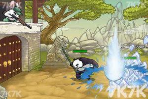 《兔子大战熊猫无敌版》游戏画面3