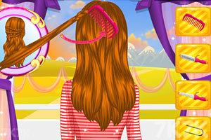 《秋日发型》游戏画面1