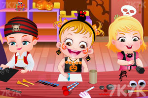 《可爱宝贝过万圣节》游戏画面2