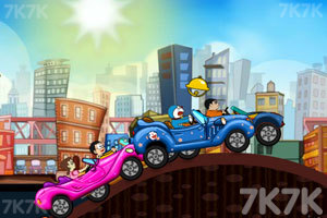 《哆啦A梦赛车比赛》截图4
