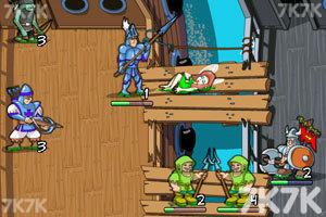 《城堡争霸无敌版》游戏画面2