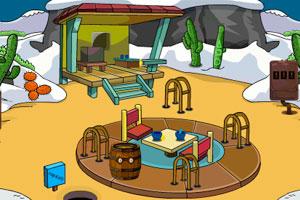 《逃出雪山营地》游戏画面1