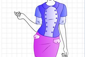 《设计时尚空姐服》截图2