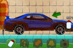《万圣节改造汽车》游戏画面1