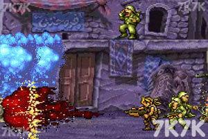 《合金弹头之沙漠孤城无敌版》游戏画面7
