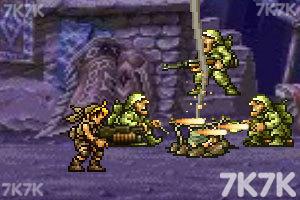 《合金弹头之沙漠孤城无敌版》游戏画面4