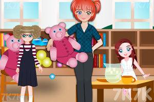 《漂亮的艾丽老师》游戏画面2