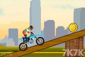 《越野摩托特技赛》游戏画面1