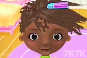 《玩具小医生的梦幻发型》游戏画面3