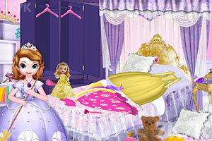 《和索菲亚打扫房间》游戏画面1