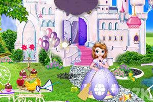 《和索菲亚打扫房间》游戏画面3