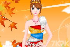 《时尚的民族服饰》游戏画面2