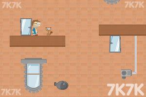 《抱猫求生记选关版》游戏画面1