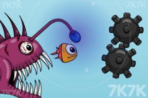 《贪婪的小鱼》游戏画面1