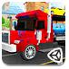 3D大卡车拖小轿车