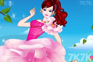 《漂亮的礼服裙》游戏画面2