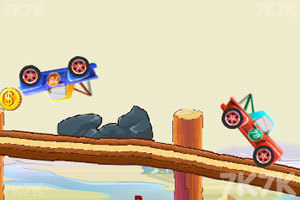 《乱斗的汽车》游戏画面3