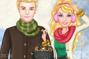 《艾莉的冬装》游戏画面1