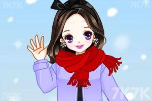 《樱桃公主换冬装》游戏画面2