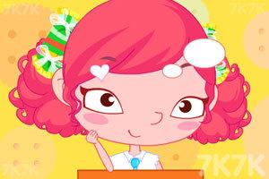 《糖果女孩爱偷懒》游戏画面2