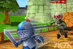 《小小骑士也酷跑》游戏画面1