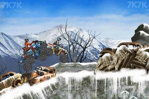 《雪地大摩托》游戏画面2