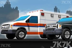 《3D警车停靠》截图1