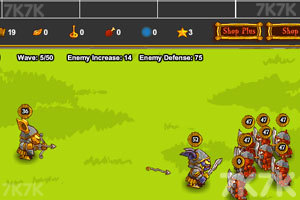 《勇者之战》游戏画面3