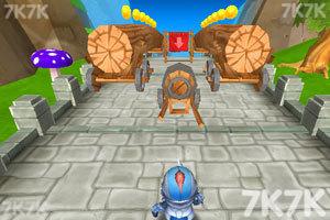 《小小骑士也酷跑无敌版》游戏画面2