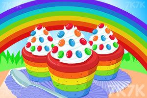 《美味的彩虹蛋糕》游戏画面1