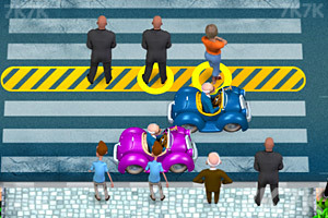 《指挥行人过马路》游戏画面1