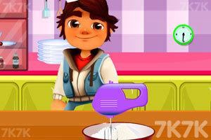 《跑酷小子做煎饼》游戏画面2