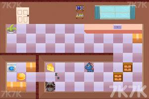 《猫鼠偷嘴儿》游戏画面2