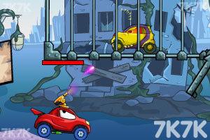 《大车吃小车3无敌版》游戏画面11