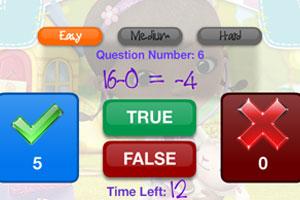 《玩具小医生做数学题》游戏画面1