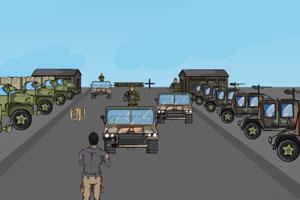 《独闯军营》游戏画面1