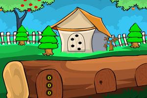 《漂亮花园逃脱》游戏画面1