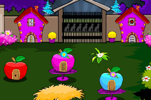 《夜晚逃离后花园》游戏画面1