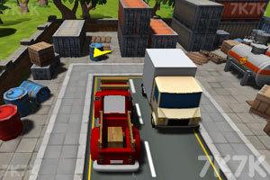 《城市停靠小货车》截图4