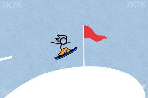 《火柴人冰雪滑板》游戏画面4
