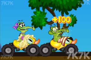 《鳄鱼小顽皮赛车》游戏画面2