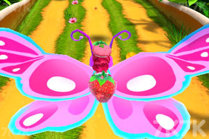 《草莓公主跑酷》游戏画面2