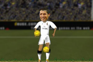 《C罗狂颠足球》游戏画面1