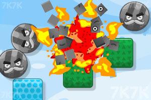 《炸飞彩方块2015》游戏画面2