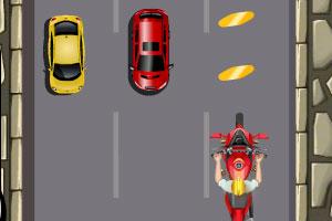 《疯狂逆行摩托》游戏画面1