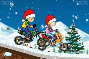 《冰雪摩托挑战》游戏画面2