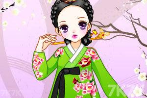 《传统韩国贵族女孩》截图3