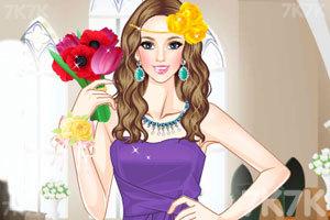 《伴娘的漂亮发型》游戏画面1