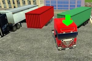 《卡车司机停车》游戏画面1