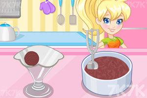 《美味的巧克力冰淇淋》游戏画面3